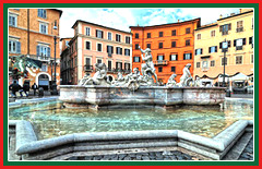 Your tour of Piazza del Nettuno will allow you to view the bronze statue of the fountain of Neptune.