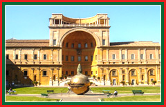 Experience a private tour of the Vatican museums.