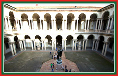 Your guide will take you to view the invaluable artworks at the Brera.