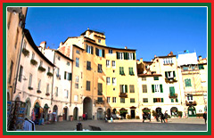 Experience the well-preserved medieval architecture of Lucca.