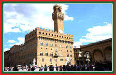 Be guided through the open-air renaissance sculpture exhibit in the Piazza Della Signoria.