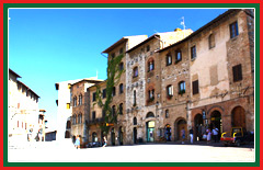 Experience a guided tour of the Piazza Della Cisterna