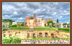 Experience a guided tour of the Fori Imperiali.