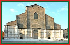 Travel to Bologna and visit the Basilica of San Petronio.