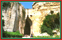 Your trip to the Archaeological Park of Neapolis will allow you to view the 'Ear of Dionysius' cave.