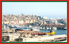 Travel to Genova, one of Italy's largest cities.