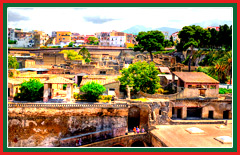 Visit the UNESCO World Heritage listed town of Herculaneum.