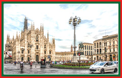 Visit the Gothic style cathedral in Milan.