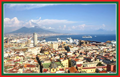 Tour Naples, the third largest city in Italy.