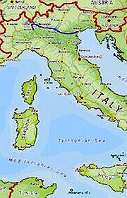 Map Of North East Italy.Italy Tours Private Guided Northeastern Italy Tour