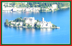 Your tour of Lake Orta will take you to the serene village of Orta San Giulio.