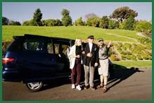 Luxury minivan guided Italy tour